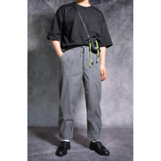 BEAMS - [新品] ankle button work pants