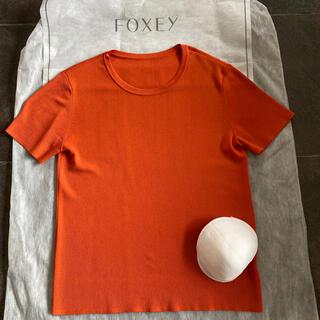 フォクシー(FOXEY)のトップスサマーニット40サイズフォクシー(ニット/セーター)