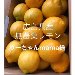 国産 レモン 広島県産 無農薬 レモン 瀬戸内レモン 2kg  専用品