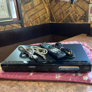 シャープ(SHARP)のシャープ BDW-2300 12倍録 2番W録 1TB 外付HDD フル装備!(ブルーレイレコーダー)