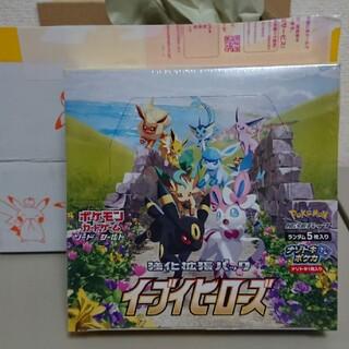 ポケモン(ポケモン)のイーブイヒーローズ box シュリンク付き(Box/デッキ/パック)