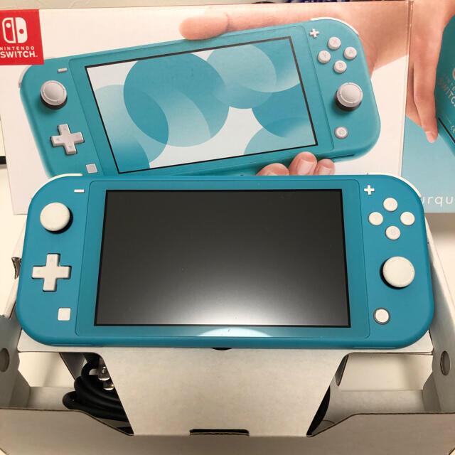 Nintendo Switch(ニンテンドースイッチ)の極美品 スイッチライト本体 Nintendo Switch エンタメ/ホビーのゲームソフト/ゲーム機本体(家庭用ゲーム機本体)の商品写真