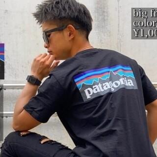 パタゴニア(patagonia)の大人気パタゴニアTシャツブラックL(Tシャツ/カットソー(半袖/袖なし))