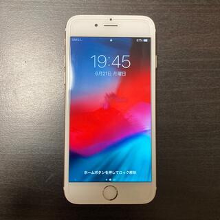 アイフォーン(iPhone)のiPhone 6 ゴールド 64GB ソフトバンク SoftBank(スマートフォン本体)