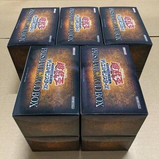 ユウギオウ(遊戯王)の【最安値】god box ゴッドボックス 10箱セット 未開封(Box/デッキ/パック)