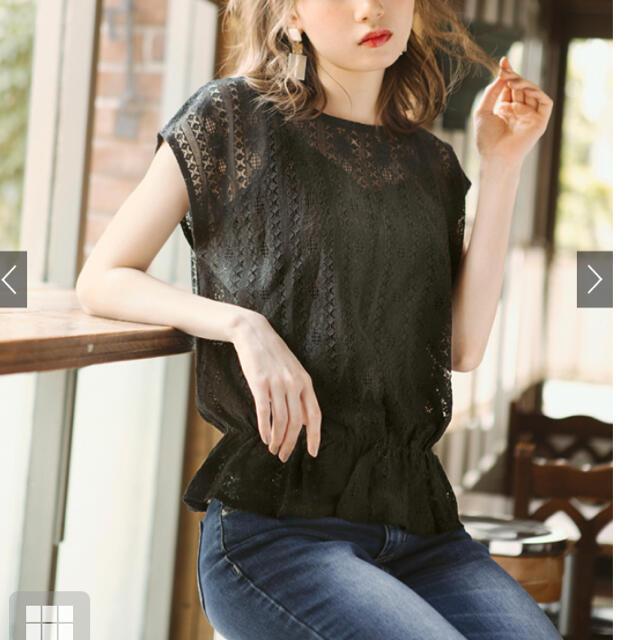 GRL(グレイル)のGRL 2wayレーストップス レディースのトップス(カットソー(半袖/袖なし))の商品写真