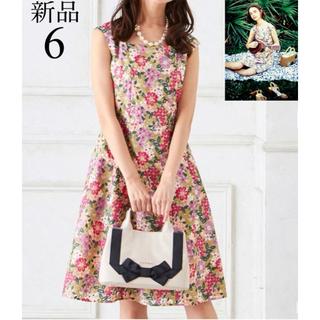 新品 TOCCA SPRING PARADISE ワンピース 6 花柄 刺繍