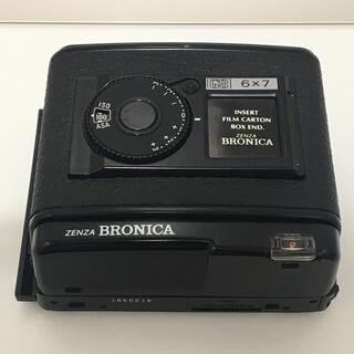 マミヤ(USTMamiya)のBRONICA GS-1 フィルムマガジン 6×7 220 美品 ブロニカ 中判(フィルムカメラ)