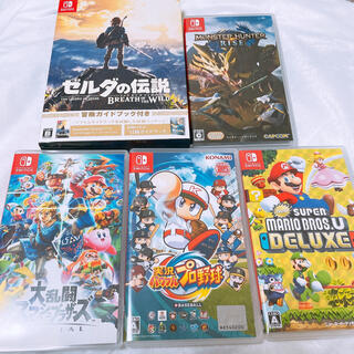 Nintendo Switch - 美品 ソフト5本セット Nintendo Switch まとめ売り