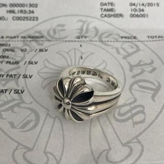 Chrome Hearts - クロムハーツ ch プラス リング 18号 指輪 シルバー 925 インボイス