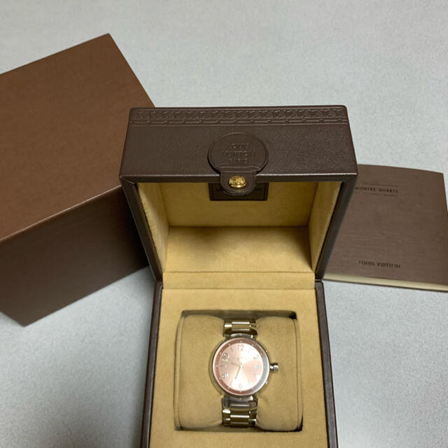 LOUIS VUITTON(ルイヴィトン)の腕時計レディース レディースのファッション小物(腕時計)の商品写真