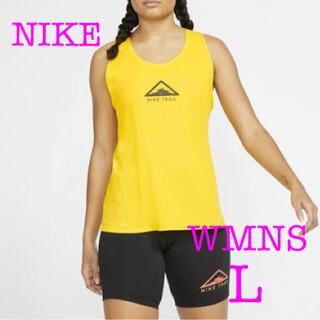 ナイキ(NIKE)のNIKE TRAIL ウィメンズ タンクトップ ノースリーブ ランニングシャツ(タンクトップ)