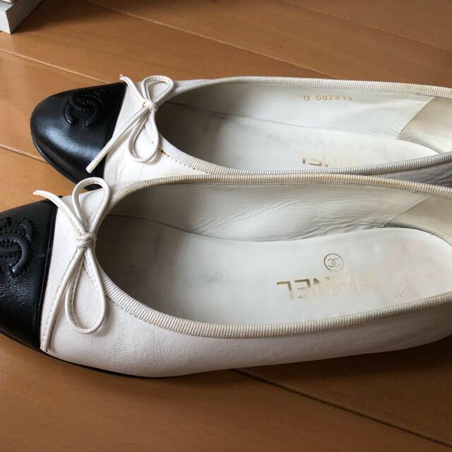 CHANEL(シャネル)のシャネル バレリーナ フラットシューズ レディースの靴/シューズ(バレエシューズ)の商品写真