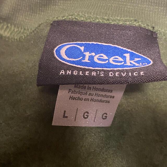 1LDK SELECT(ワンエルディーケーセレクト)のCreek Angler's Device スウェット トレーナー メンズのトップス(スウェット)の商品写真