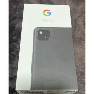 Google Pixel - pixel4a 128GB ブラック