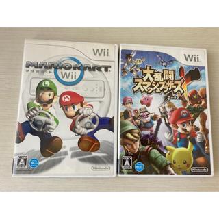 Wii - マリオカートWii  大乱闘スマッシュブラザーズX