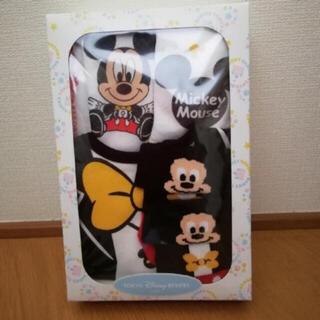 Disney - ミッキー 新生児セット ディズニー スタイ くつ下