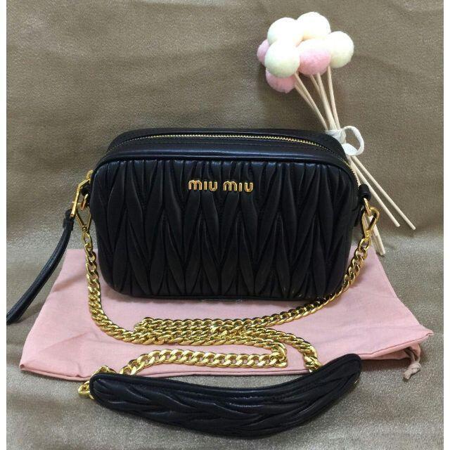 miumiu(ミュウミュウ)のMIUMIUショルダーバッグ2wayバック レディースのバッグ(ショルダーバッグ)の商品写真