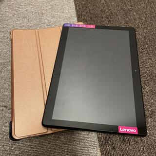 Lenovo - 【中古】Lenovo Tab M10 & 光沢ピンクの専用ケース