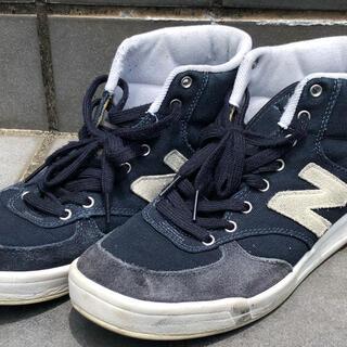 ニューバランス(New Balance)のニューバランス/ハイカットスニーカー/27.5cm/NVY/キャンバス(スニーカー)
