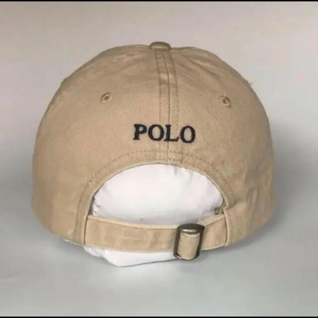POLO RALPH LAUREN(ポロラルフローレン)の【新品未使用】ラルフローレン キャップ ベージュ メンズの帽子(キャップ)の商品写真