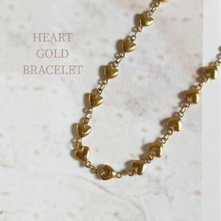 Spick and Span - 【再入荷】heart gold bracelet ◆ ラスト1点