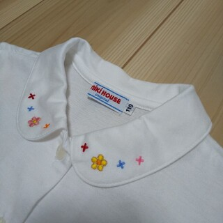 ミキハウス(mikihouse)のミキハウス ブラウスシャツ 110(Tシャツ/カットソー)