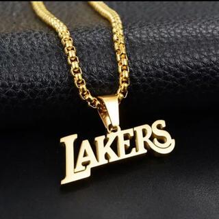 NBA LAKERS ネックレス ゴールド レイカーズ