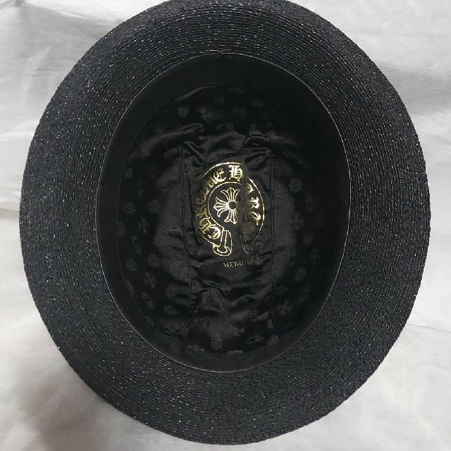 Chrome Hearts(クロムハーツ)のクロムハーツ ストローハット メンズの帽子(ハット)の商品写真