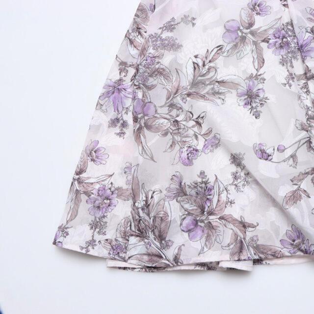 Mystrada(マイストラーダ)の花柄スカート♡Mystrada レディースのスカート(ロングスカート)の商品写真