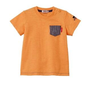 mikihouse - ダブルビー ポケット付き半袖Tシャツ130 ミキハウス