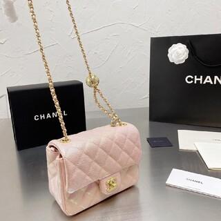 シャネル(CHANEL)のCHANELプリズムチェーンバッグ#P 09(トイレ収納)