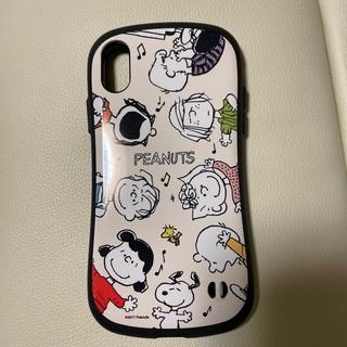 スヌーピー(SNOOPY)のi Phone X  XS スマホカバーSNOOPY i Face(iPhoneケース)