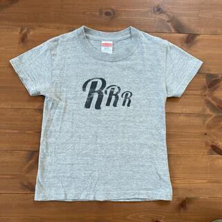 デニムダンガリー(DENIM DUNGAREE)のInstagramで人気 ROTTANさんオリジナルTシャツ 120cm グレー(Tシャツ/カットソー)