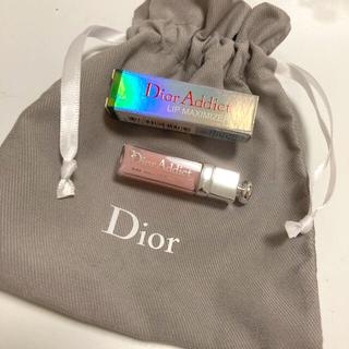 Christian Dior - 【巾着付き⭐】ディオール リップ マキシマイザー #001 ピンク