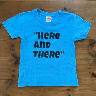 DENIM DUNGAREE - Instagramで人気 ROTTANさんのオリジナルTシャツ 120cm 水色