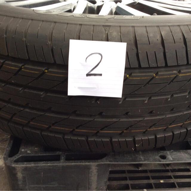 30系ヴェルファイア 新車外し 純正ホイール 自動車/バイクの自動車(タイヤ・ホイールセット)の商品写真