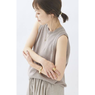 Plage - 新品⭐Plage Italian Yarn タンクトップ