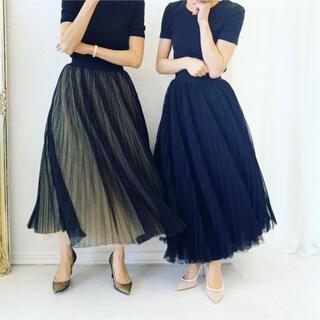 TSURU by Mariko Oikawa - TSURU チュールプリーツスカート