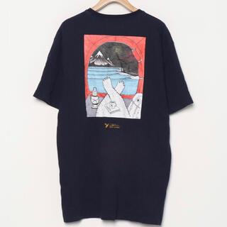 ケルティ(KELTY)のKELTY ケルティ コラボ Tシャツ XL  ネイビー(Tシャツ/カットソー(半袖/袖なし))