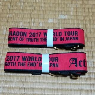 2個 セット 未使用 BIGBANGG-DRAGON ショルダーストラップ(ミュージシャン)