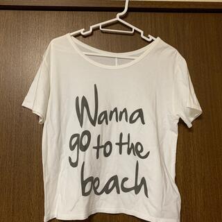 スピックアンドスパン(Spick and Span)のロゴプリントTシャツ(Tシャツ(半袖/袖なし))