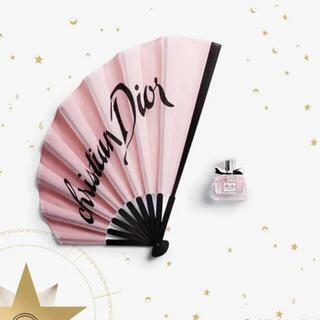 ディオール(Dior)の新品未使用 DIOR ウェルカムギフト ミスディオール ファンセット 扇子 香水(香水(女性用))