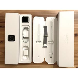 Apple Watch - Apple Watch Series 5 40mm シルバー +ミラネーゼループ