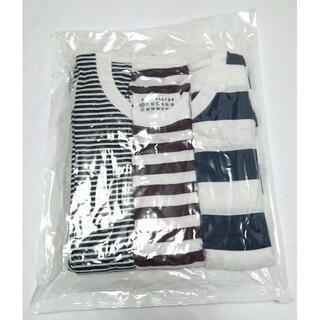 マルタンマルジェラ(Maison Martin Margiela)のM メゾン マルジェラ パックT ボーダー 3枚 セット Tシャツ Maison(Tシャツ/カットソー(半袖/袖なし))