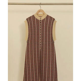 トゥデイフル(TODAYFUL)のtodayful ジャガードニットドレス(ロングワンピース/マキシワンピース)