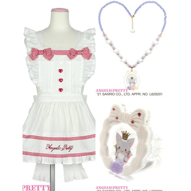 Angelic Pretty(アンジェリックプリティー)のWish me mell Whip Cream Princessネックレス レディースのアクセサリー(ネックレス)の商品写真
