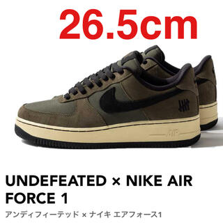 NIKE - NIKE AIR FORCE 1 UNDEFEATED 26.5cm