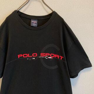 POLO RALPH LAUREN - 90s ラルフローレン ポロスポーツ Tシャツ ゆるだぼ vintage