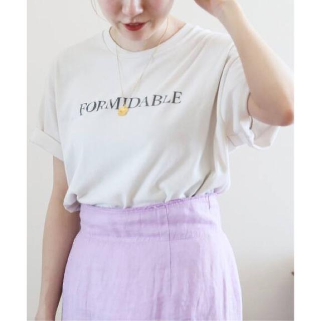 IENA(イエナ)のmariha様専用♡IENA FORMIDABLEロゴプリントTシャツ  レディースのトップス(Tシャツ(半袖/袖なし))の商品写真